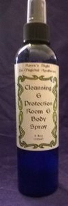 Cleansing & Protection Room & Body Spray Mist 8 oz
