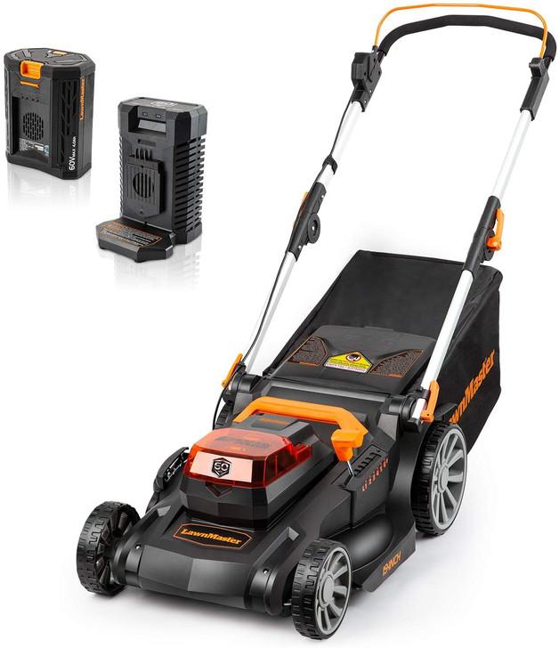 60V 19-Inch Brushless Lawn Mower