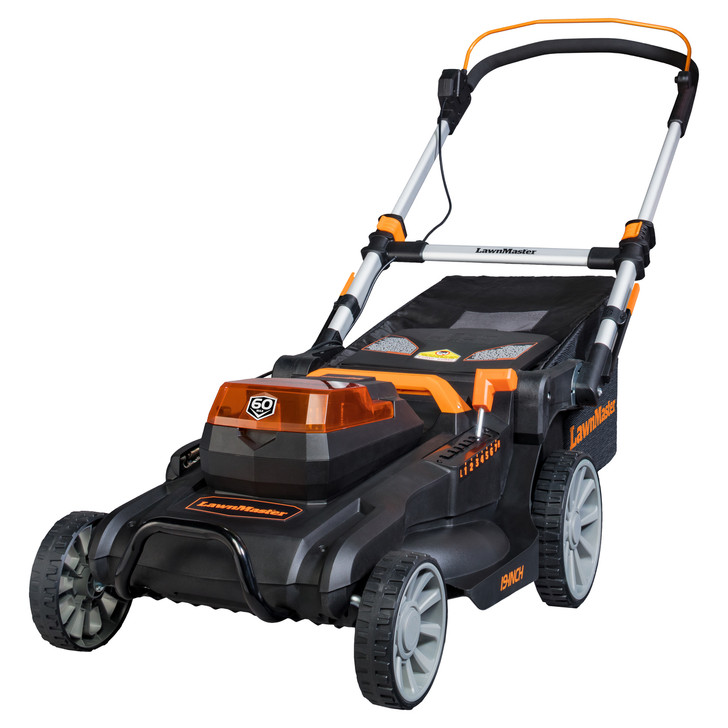 60V Lithium Ion Cordless Lawn Mower - Gas Like Power