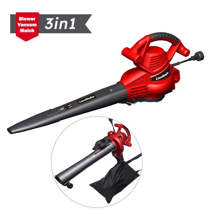 Variable-Speed 12 Amp Blower/Vacuum/Mulcher
