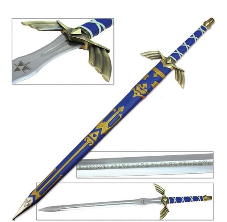 Legend of Zelda Breath of The Wild Master Sword (Blue)