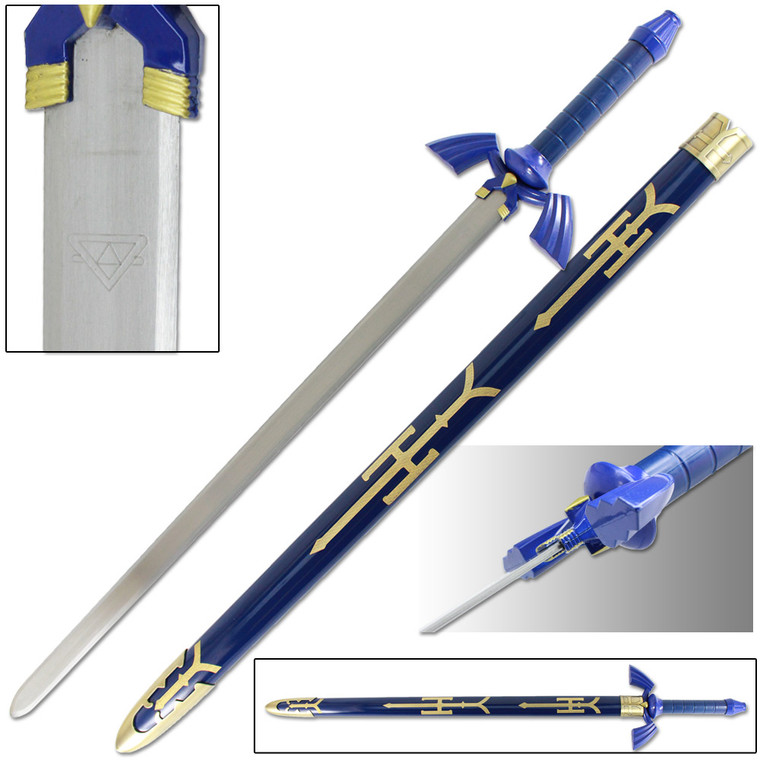 Legend of Zelda- Blue Master Sword