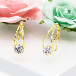 Medium Basket Earrings - 900003