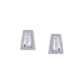 Lafonn Lassaire Bezel Earrings - 9E080CLP00