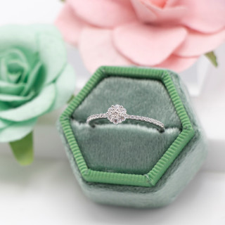 JADA Chloe Flower Ring - 111525