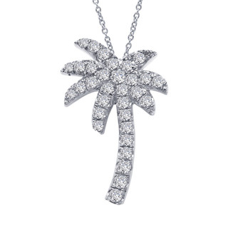 Lafonn Palm Tree Necklace - P2001CLP18