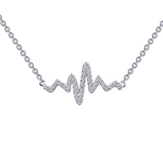 Lafonn Heartbeat Necklace - N0060CLP18