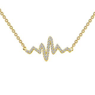 Lafonn Heartbeat Necklace - N0060CLG18