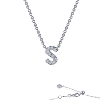 """Initial """"S"""" Pendant Necklace - 9N099CLP"""