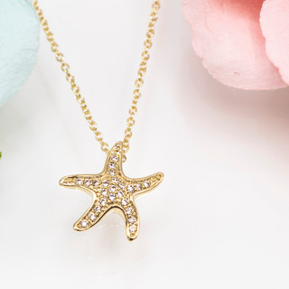Baby Starfish Necklace - 800039