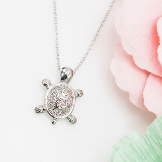 Land Turtle Necklace - 800082