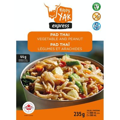 Pad Thai with Vegetables & Peanuts