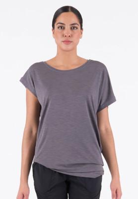 W's Ester Quick Knit Dry T-Shirt (Violet)