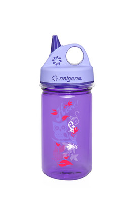 Purple Sippy Cup With Owl And Purple Cap