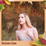 Autumn Square PSD - Booth for  iPad