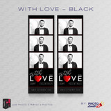 With Love Black 2x6 3 Images