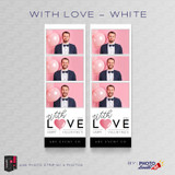 With Love White 2x6 3 Images