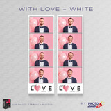 With Love White 2x6 4 Images