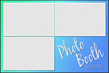 3 Photo 4x6 Horizontal Sample/Guide PSD - Booth for  iPad