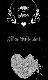 iPad Start Screen Video -Wedding