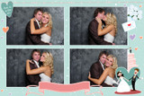 Wedding 4x6 Print Template - 4 Images