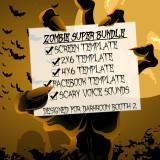Zombie Super Bundle + Free Animated Gif Background