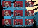 Halloween 6x8 Print Template - 3Images Horizontal