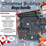 Christmas Buddies Mega Bundle w/ Animated GIF and Santa's Voice