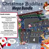 Christmas Buddies Mega Bundle w/ Animated GIF and Santa's Voice