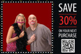 Coupon Promo 1 for 4x6 Perforated Media
