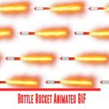 Bottle Rocket Animated GIF