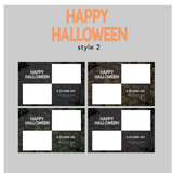 The Photopod Company - Halloween 4x6 Style 2