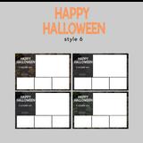 The Photopod Company - Halloween 4x6 Style 6