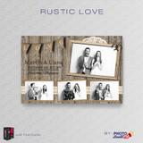 Rustic Love 4x6 - CI Creative