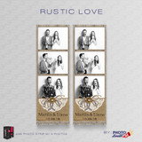Rustic Love 2x6 3 Images - CI Creative