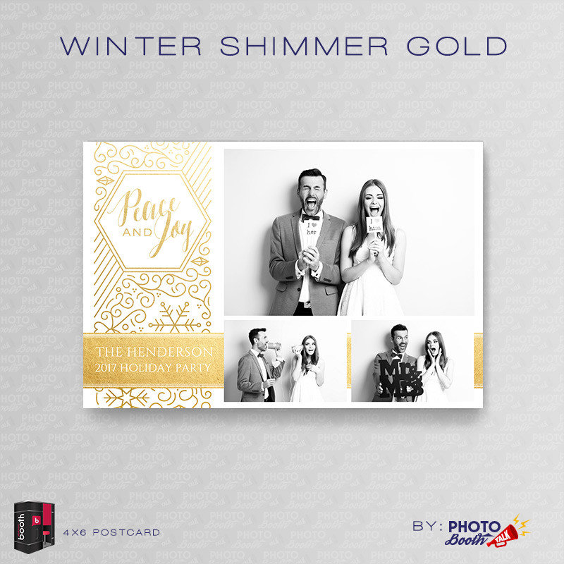 Winter Shimmer Gold 4x6 - CI Creative