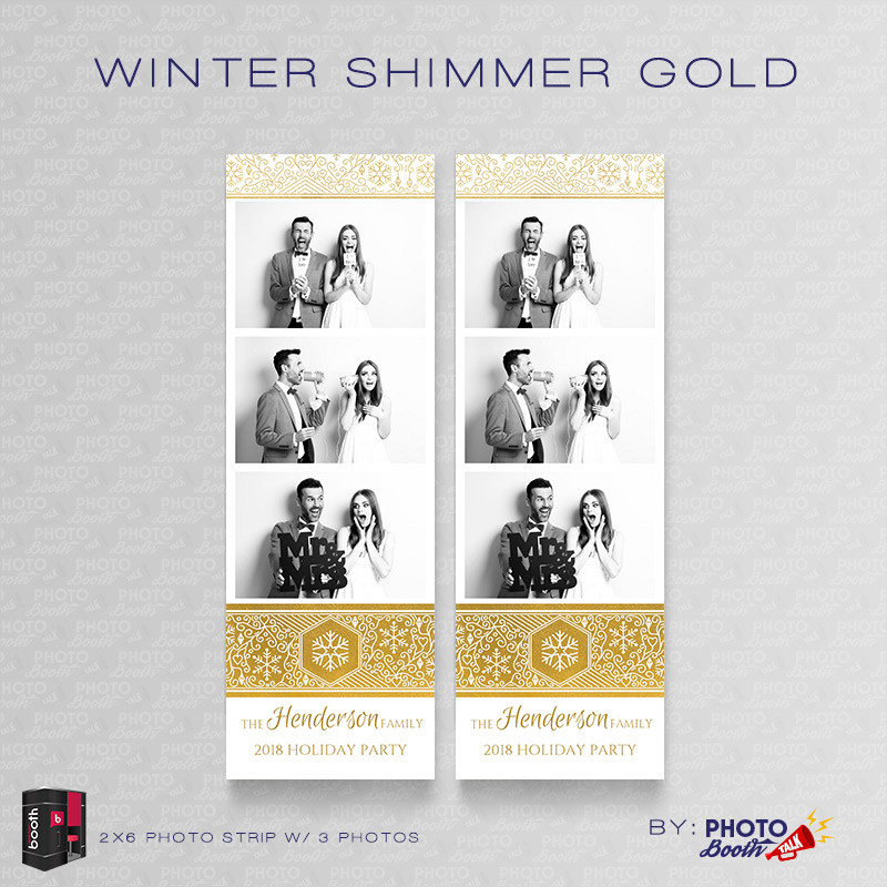 Winter Shimmer Gold 2x6 3 Images - CI Creative