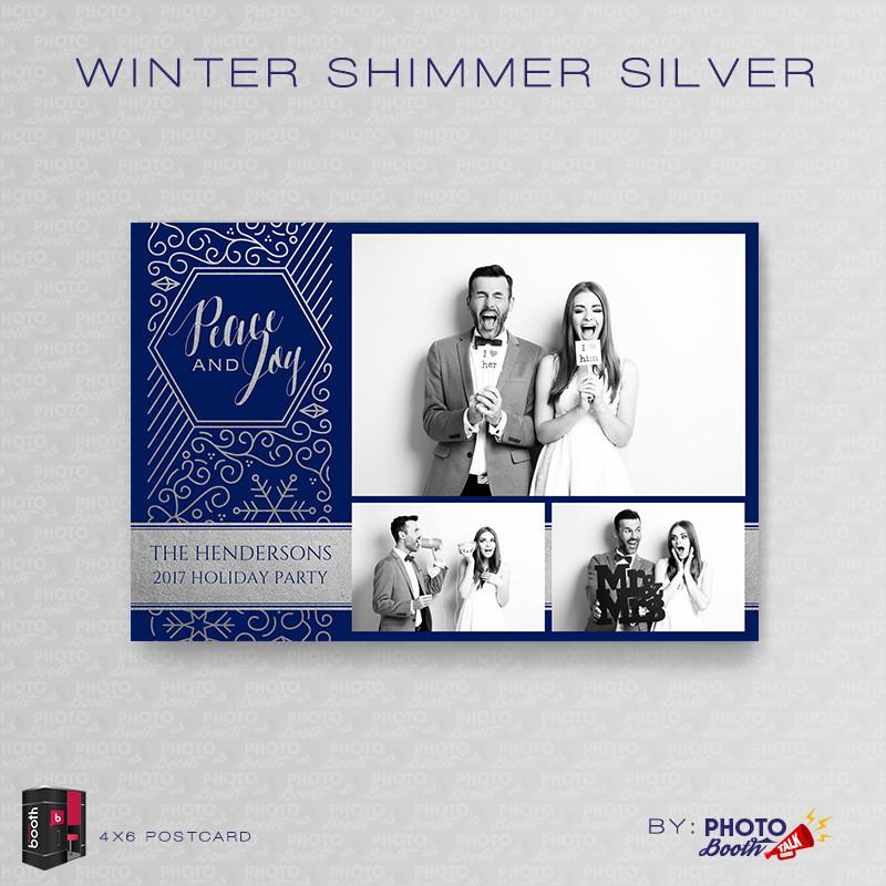 Winter Shimmer Silver 4x6 - CI Creative