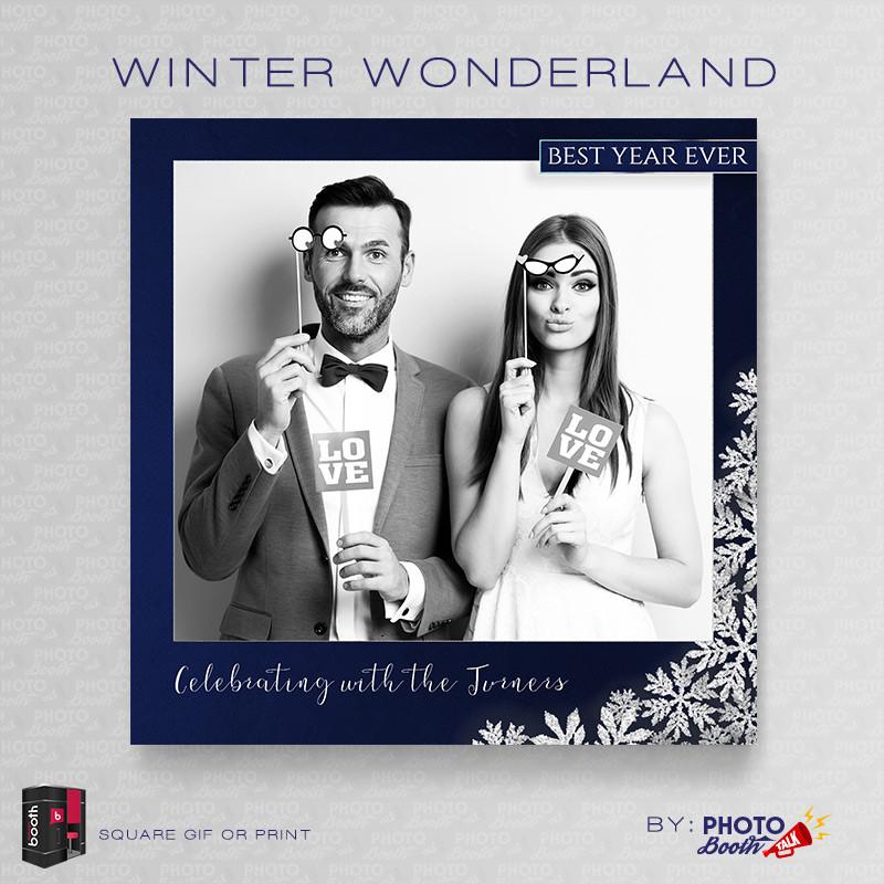 Winter Wonderland Square - CI Creative
