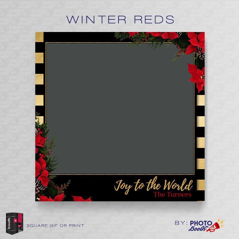 Winter Reds Square - CI Creative