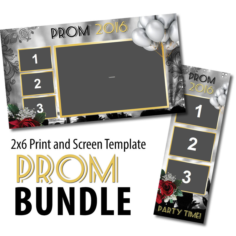 Prom Bundle 01- 2x6 Print and Screen Template