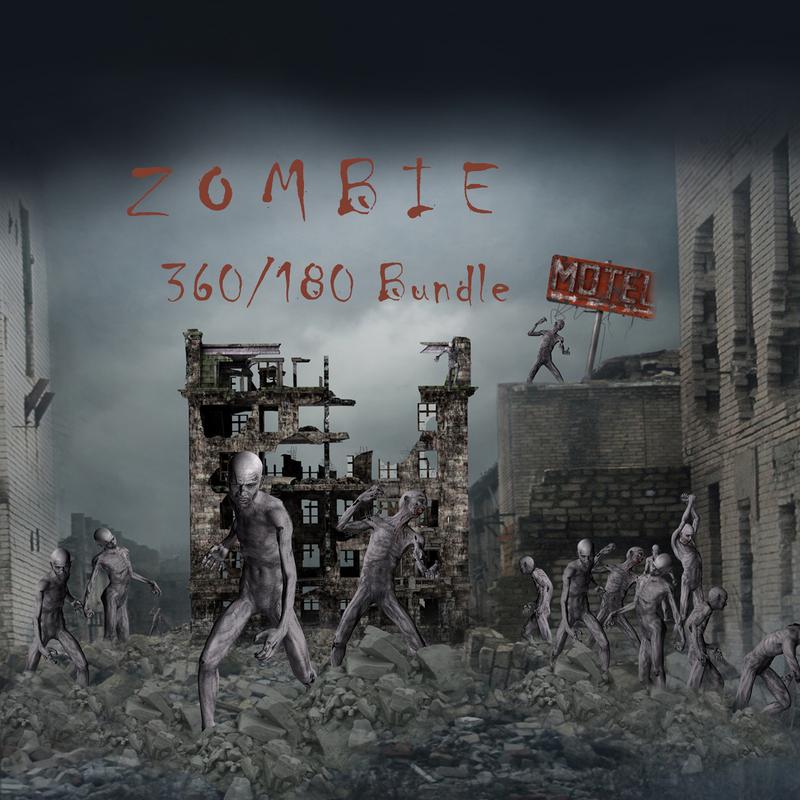 Zombie 180 & 360 Template Bundle