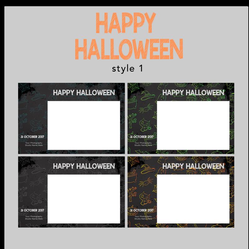 The Photopod Company - Halloween 4x6 Style 1