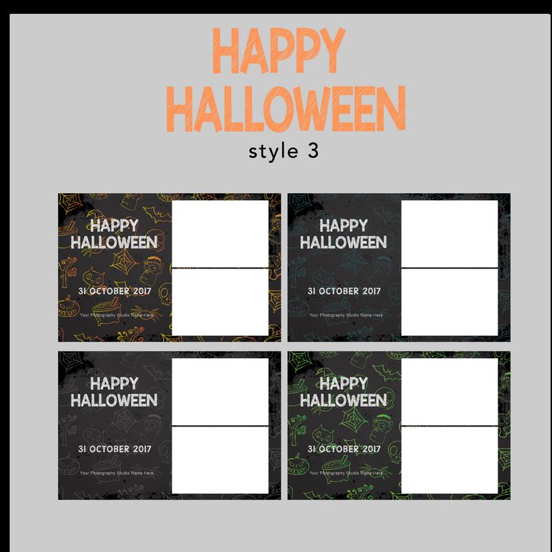 The Photopod Company - Halloween 4x6 Style 3