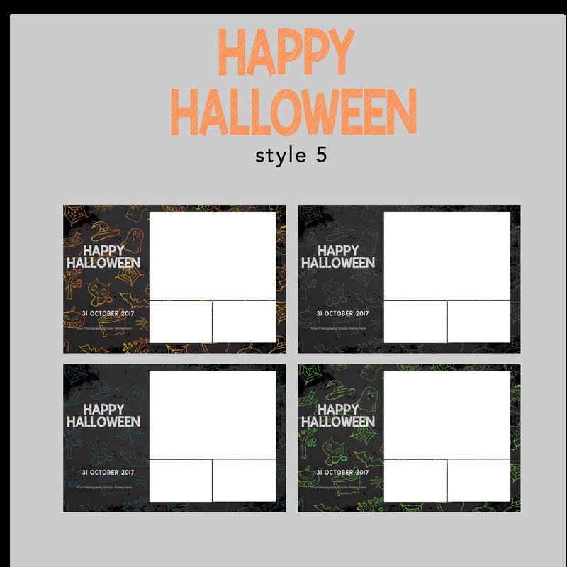 The Photopod Company - Halloween 4x6 Style 5
