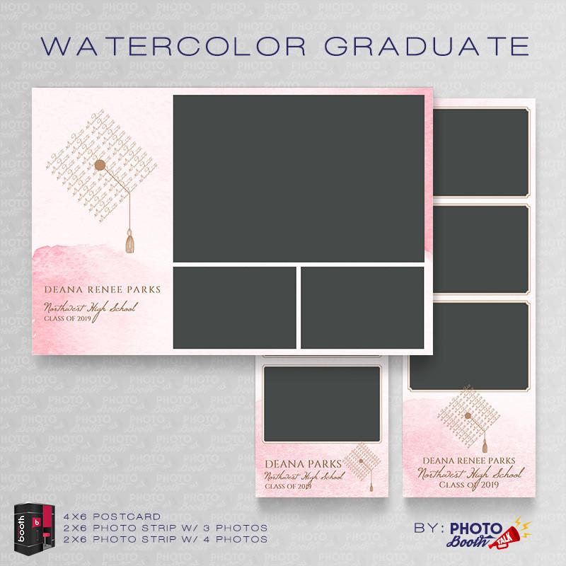 Watercolor Graduate  Bundle - CI Creative
