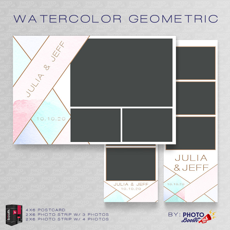 Watercolor Geometric  Bundle - CI Creative