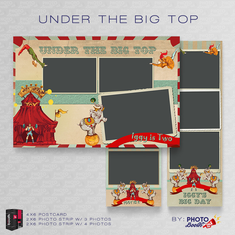 Under the Big Top Bundle - CI Creative