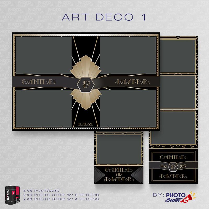 Art Deco 1 Bundle - CI Creative