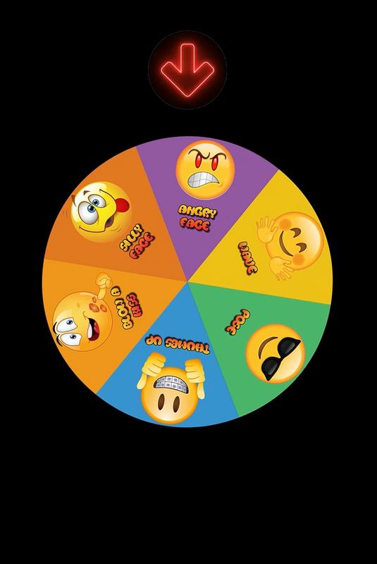 Emoji Mirror - 3 Images Booth Theme